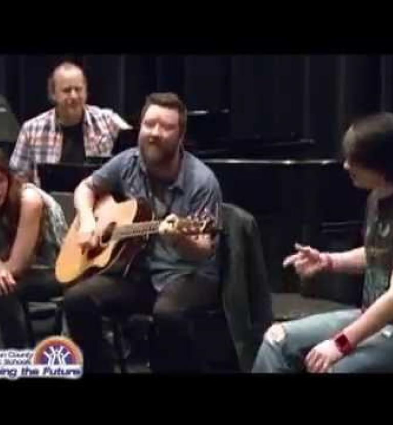 Music City Hit-Makers visit Youth Performing Arts School
