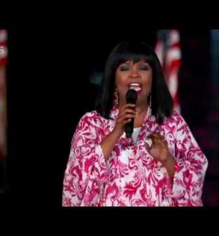 "CeCe Winans Performs ""God Bless America"" at the 2018 A Capitol Fourth"
