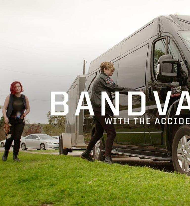 The Accidentals | Ram ProMaster | BandVan