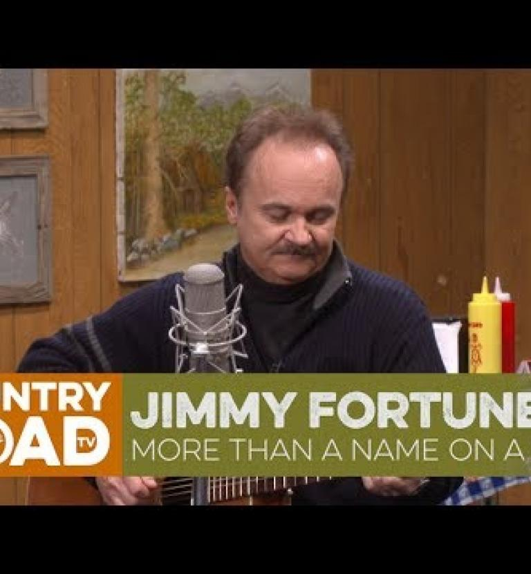 "Jimmy Fortune sings ""More Than a Name on a Wall"""